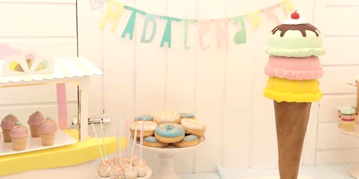 Pastel Ice Cream Party via Kara's Party Ideas | KarasPartyIdeas.com (1)