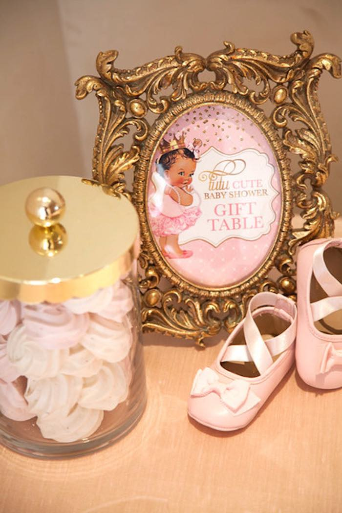 Kara S Party Ideas Pink Quot Tutu Cute Quot Ballerina Baby Shower