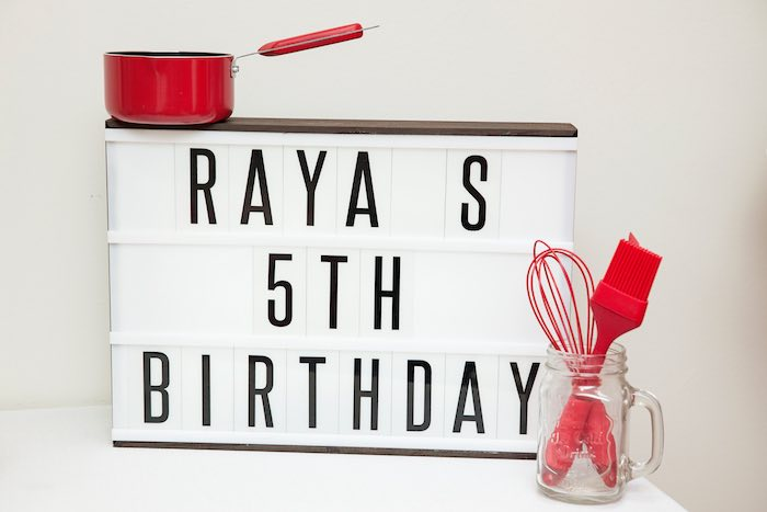 Sign from a Pizzeria Themed Birthday Party via Kara's Party Ideas KarasPartyIdeas.com (42)