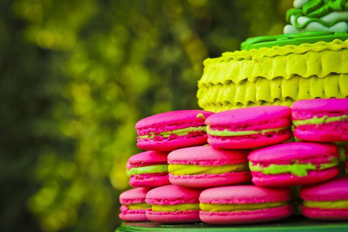 Macarons from a Poison Ivy Birthday Party via Kara's Party Ideas | KarasPartyIdeas.com (29)