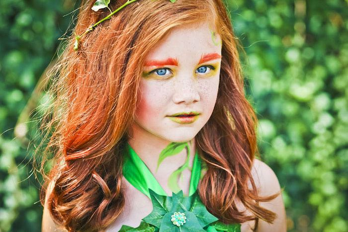 Poison Ivy from a Poison Ivy Birthday Party via Kara's Party Ideas | KarasPartyIdeas.com (14)