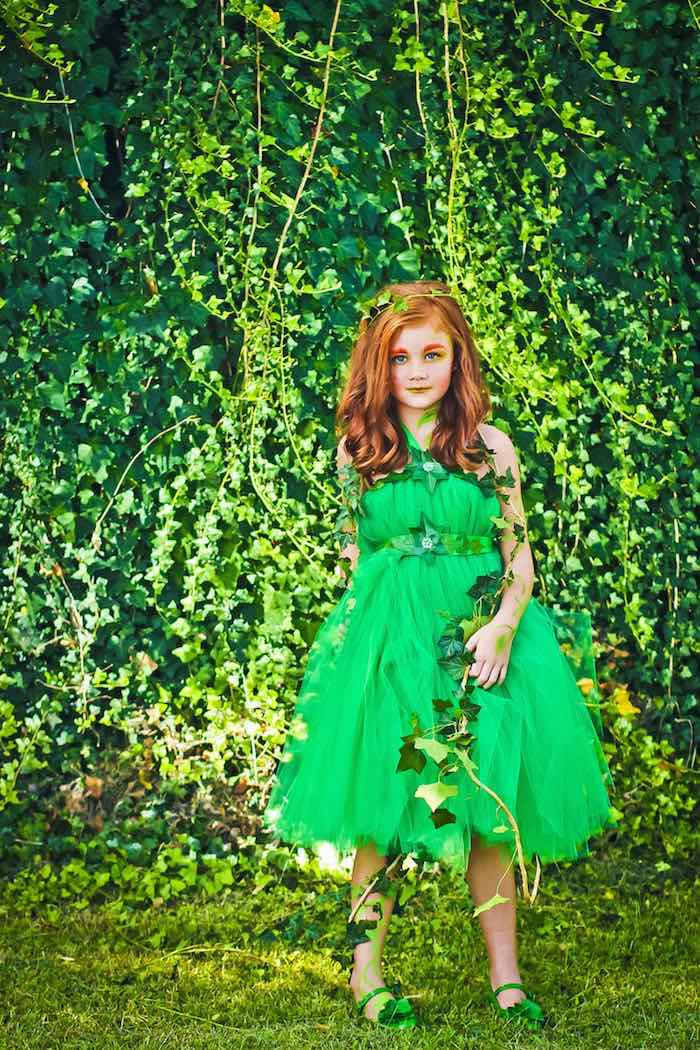 Poison Ivy from a Poison Ivy Birthday Party via Kara's Party Ideas | KarasPartyIdeas.com (13)