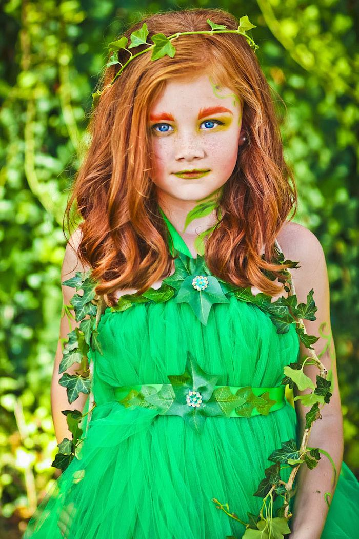 Poison Ivy from a Poison Ivy Birthday Party via Kara's Party Ideas | KarasPartyIdeas.com (12)