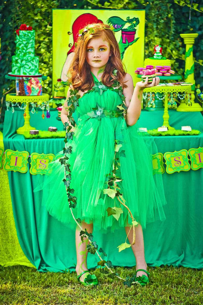Poison Ivy Birthday Party via Kara's Party Ideas | KarasPartyIdeas.com (11)