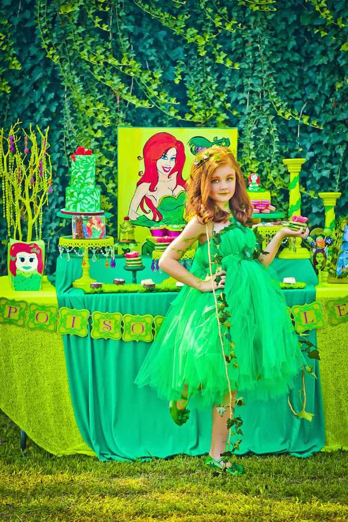 Poison Ivy Birthday Party via Kara's Party Ideas | KarasPartyIdeas.com (10)