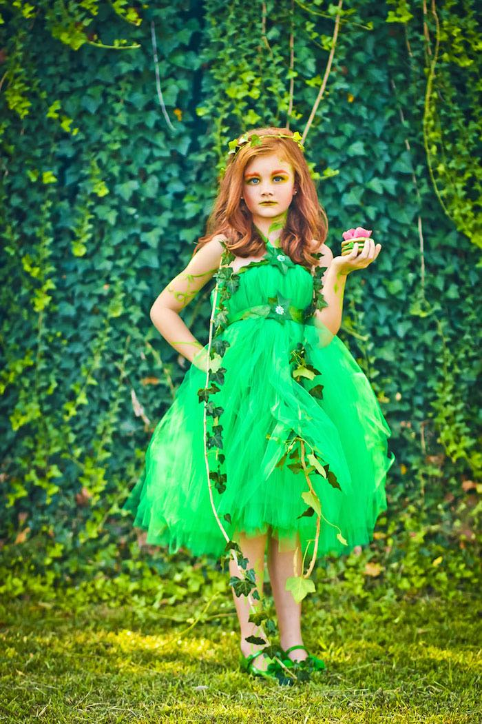 Poison Ivy from a Poison Ivy Birthday Party via Kara's Party Ideas | KarasPartyIdeas.com (8)