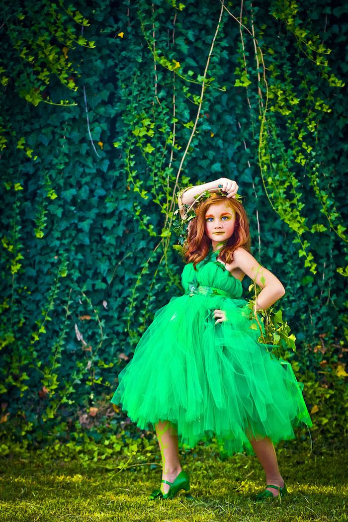 Poison Ivy from a Poison Ivy Birthday Party via Kara's Party Ideas | KarasPartyIdeas.com (7)