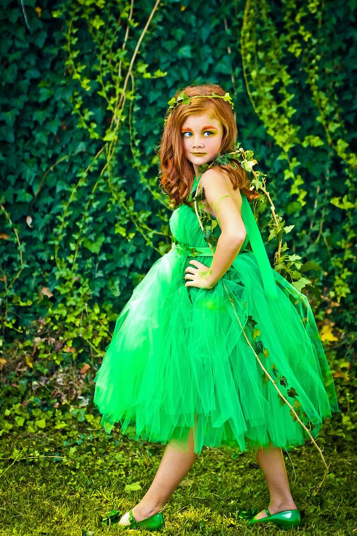 Poison Ivy from a Poison Ivy Birthday Party via Kara's Party Ideas | KarasPartyIdeas.com (5)
