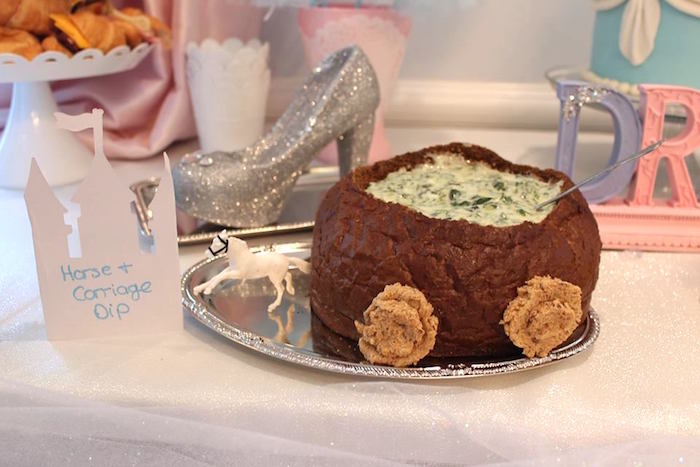 Horse & Carriage Dip from a Princess Cinderella Birthday Party via Kara's Party Ideas | KarasPartyIdeas.com (29)