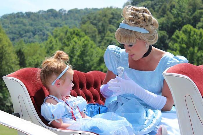 Cinderella from a Princess Cinderella Birthday Party via Kara's Party Ideas | KarasPartyIdeas.com (13)