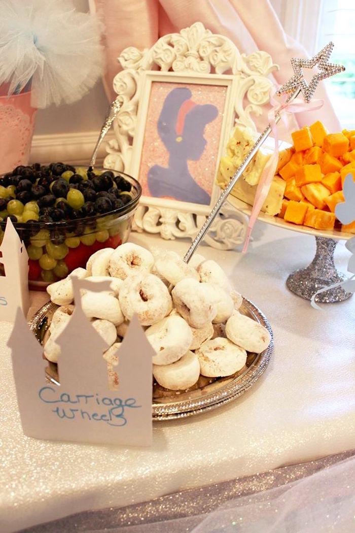 Food + snacks from a Princess Cinderella Birthday Party via Kara's Party Ideas | KarasPartyIdeas.com (40)