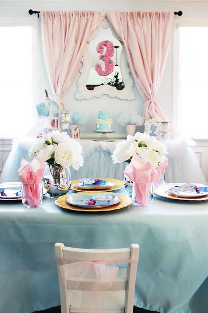 Kara S Party Ideas Princess Pink Cinderella Birthday Party