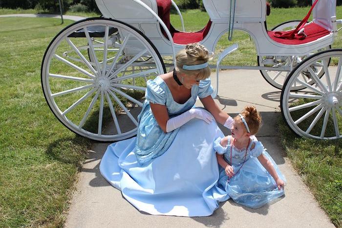 Princess' from a Princess Cinderella Birthday Party via Kara's Party Ideas | KarasPartyIdeas.com (37)