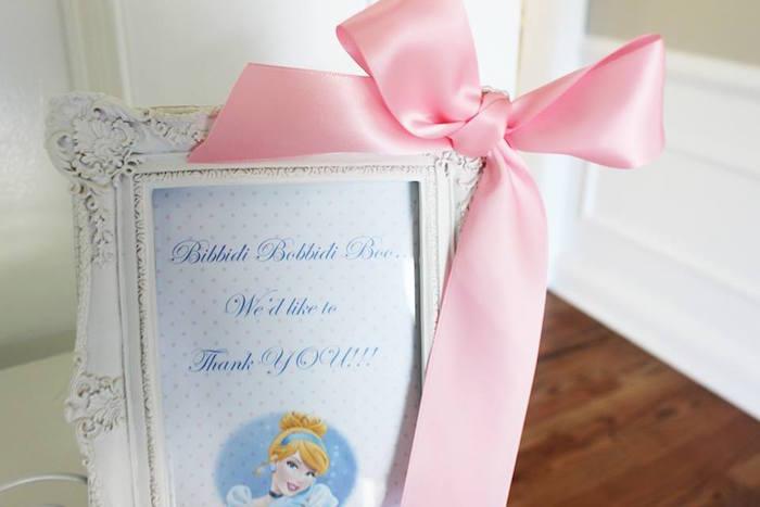"""Bibbidi Bobbidi Boo"" printable + stationery from a Princess Cinderella Birthday Party via Kara's Party Ideas | KarasPartyIdeas.com (34)"