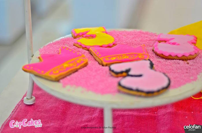 Cookies from a Princess Minions Themed Birthday Party via Kara's Party Ideas KarasPartyIdeas.com (23)