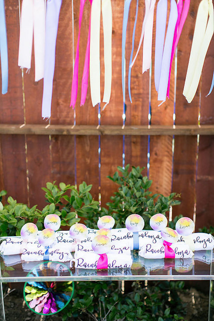 Kara S Party Ideas Rainbowpalooza Tie Dye 1970 S Inspired