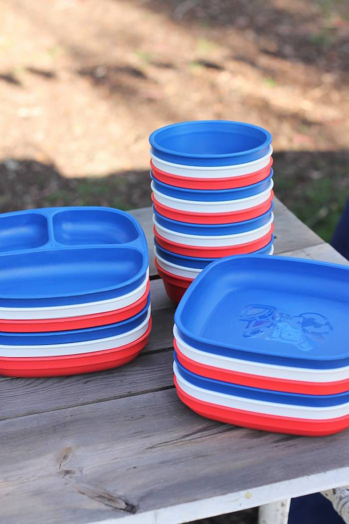 Partyware from a Red + White & Blue Outdoor Summer 4th of July Celebration via Kara's Party Ideas - KarasPartyIdeas.com (34)