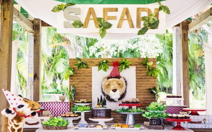 Kara S Party Ideas African Inspired Safari Birthday Party
