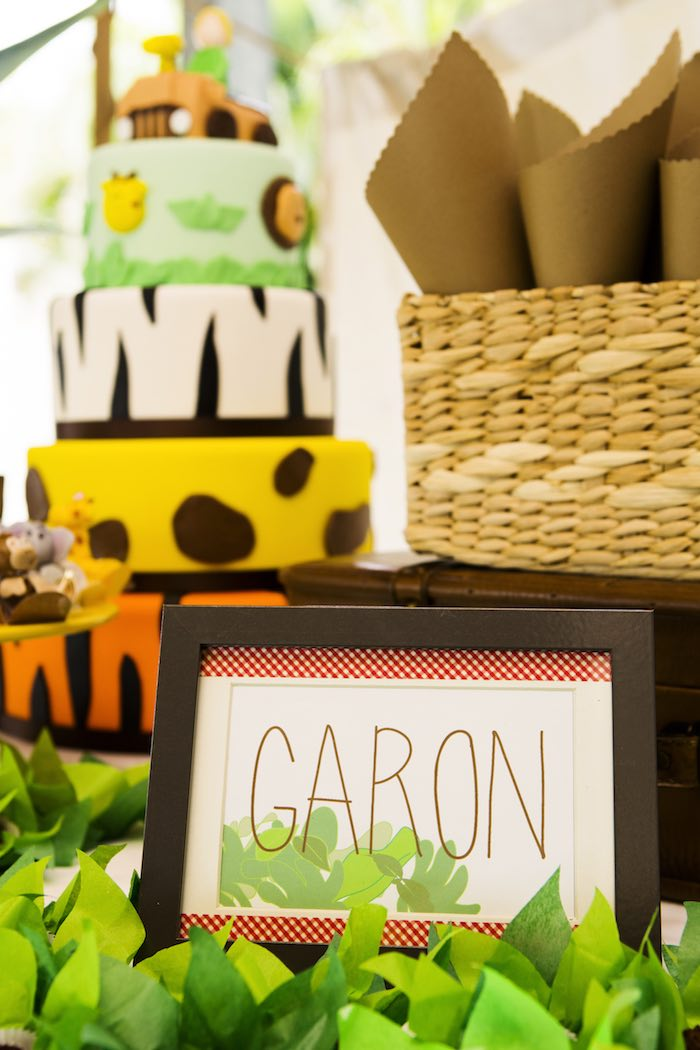 Kara S Party Ideas African Inspired Safari Birthday Party
