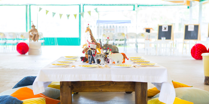 Kara\'s Party Ideas African Inspired Safari Birthday Party ...