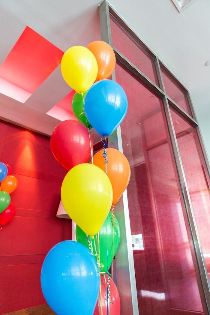 Balloons from a Sesame Street Birthday Party via Kara's Party Ideas | KarasPartyIdeas.com - The Place for All Things Party! (11)