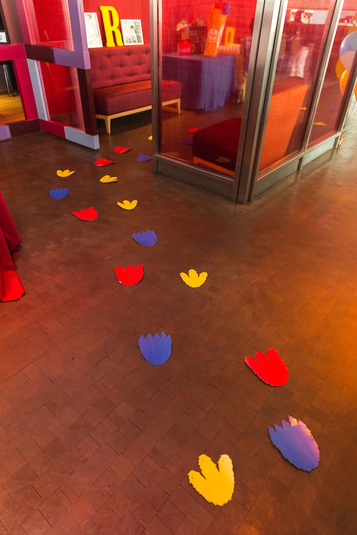 Footprints to a Sesame Street Birthday Party via Kara's Party Ideas | KarasPartyIdeas.com - The Place for All Things Party! (9)