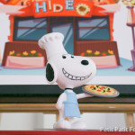 Snoopy Decoration + Cake Topper from a Snoopy Pizza Themed Birthday Party via Kara's Party Ideas KarasPartyIdeas.com (1)