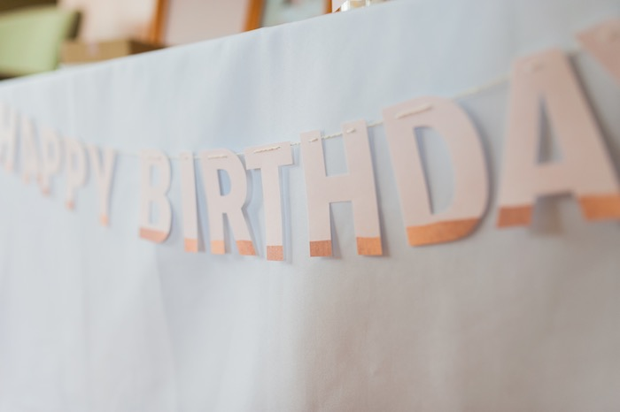 Banner from a Sugar & Spice 1st Birthday Party via Kara's Party Ideas | KarasPartyIdeas.com - THE PLACE FOR ALL THINGS PARTY! (24)
