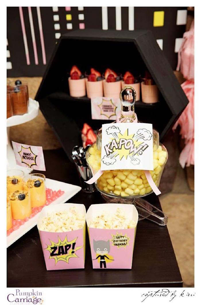 kara u0026 39 s party ideas supergirl superhero themed birthday