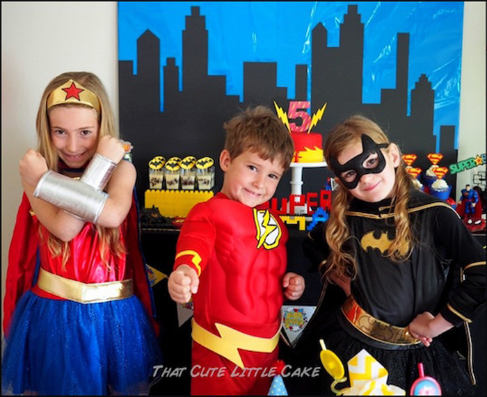 Superheroes from a Superhero Birthday Party via Kara's Party Ideas | KarasPartyIdeas.com - The Place for All Things Party! (25)