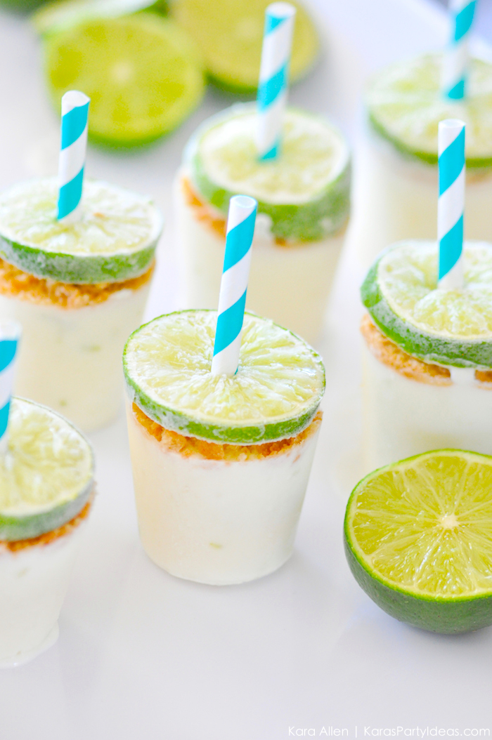 Key Lime Popsicle Recipe by Kara's Party Ideas | KarasPartyIdeas.com