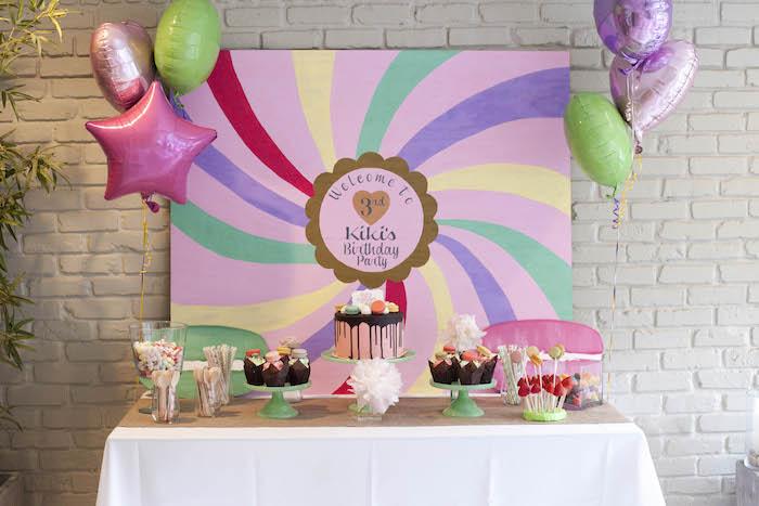 Sweet Macaron Themed Birthday Party via Kara's Party Ideas KarasPartyIdeas.com (12)