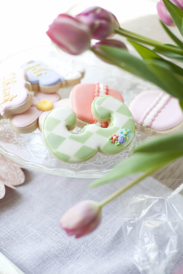 Cookies from a Sweet Macaron Themed Birthday Party via Kara's Party Ideas KarasPartyIdeas.com (28)