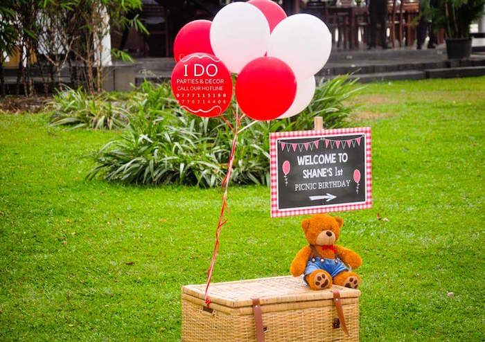 Karas Party Ideas Teddy Bear Birthday Party Picnic  Karas Party Ideas-4178