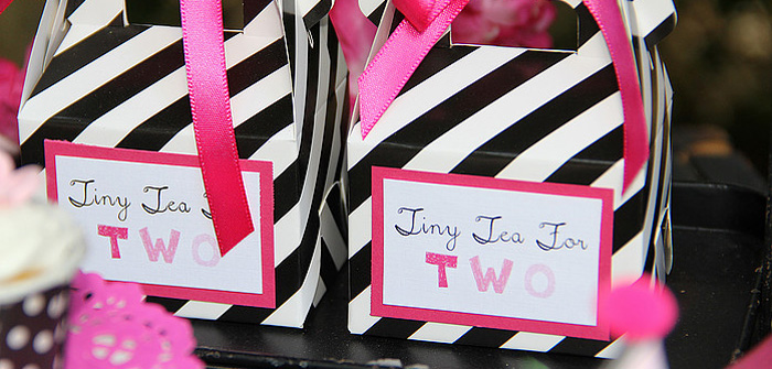 Favor Boxes from a Tiny Tea Party for Two via Kara's Party Ideas | KarasPartyIdeas.com (1)