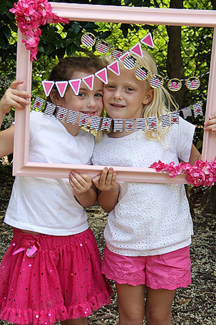 Photo Op from a Tiny Tea Party for Two via Kara's Party Ideas | KarasPartyIdeas.com (19)