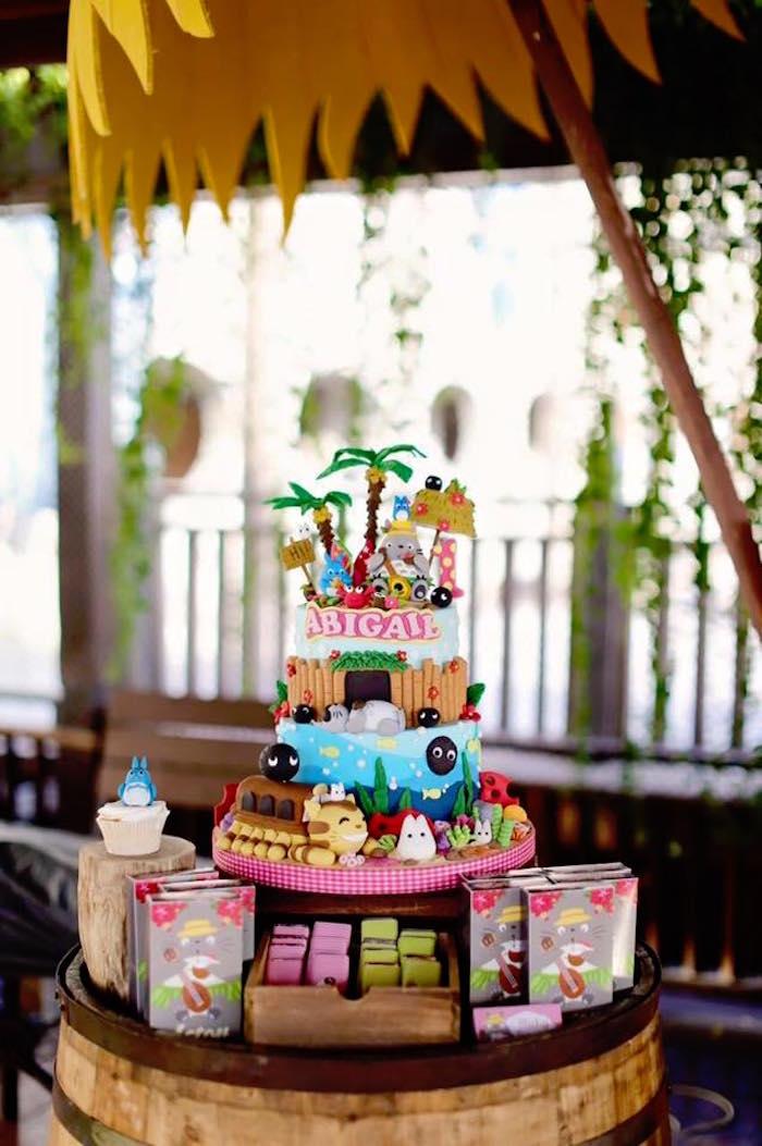 Kara S Party Ideas Tropical Tiki Birthday Party Kara S