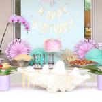 Under the Sea Birthday Pool Party via Kara's Party Ideas | KarasPartyIdeas.com (2)