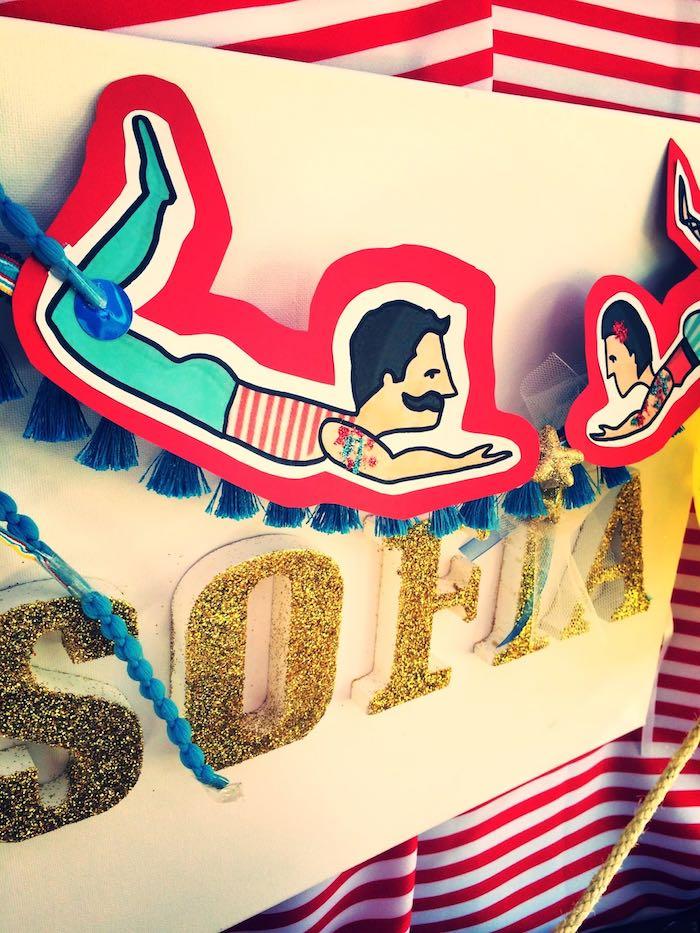 Kara S Party Ideas Vintage Classic Circus Birthday Party