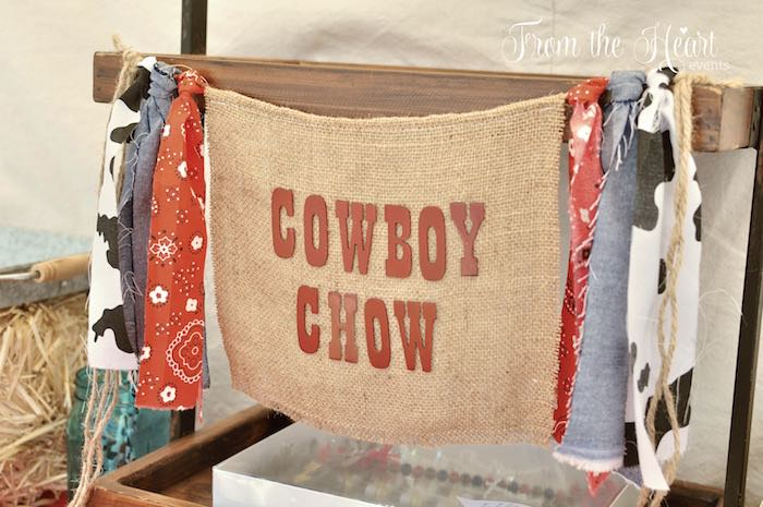 Western banner from a Wild West Cowboy Party via Kara's Party Ideas | KarasPartyIdeas.com - The Place for All Things Party! (36)