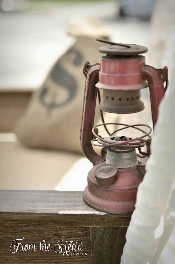 Oil burning lantern from a Wild West Cowboy Party via Kara's Party Ideas | KarasPartyIdeas.com - The Place for All Things Party! (25)