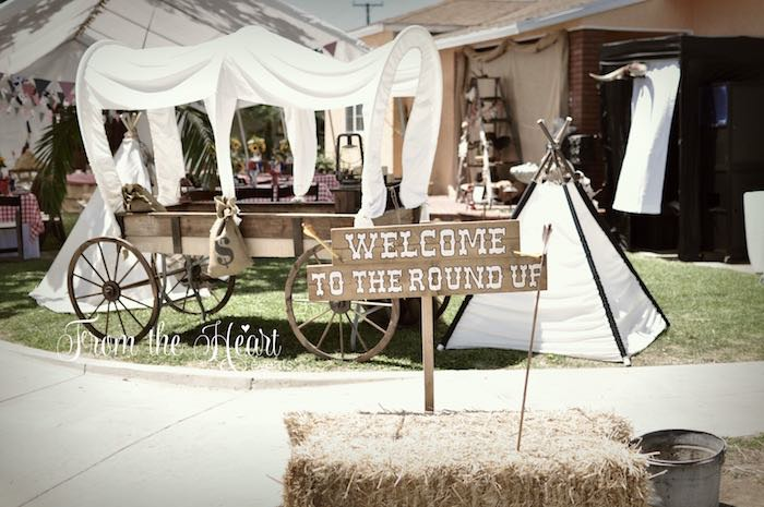 Wild West Cowboy Party via Kara's Party Ideas | KarasPartyIdeas.com - The Place for All Things Party! (24)