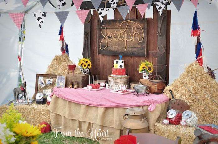Dessert table from a Wild West Cowboy Party via Kara's Party Ideas | KarasPartyIdeas.com - The Place for All Things Party! (7)