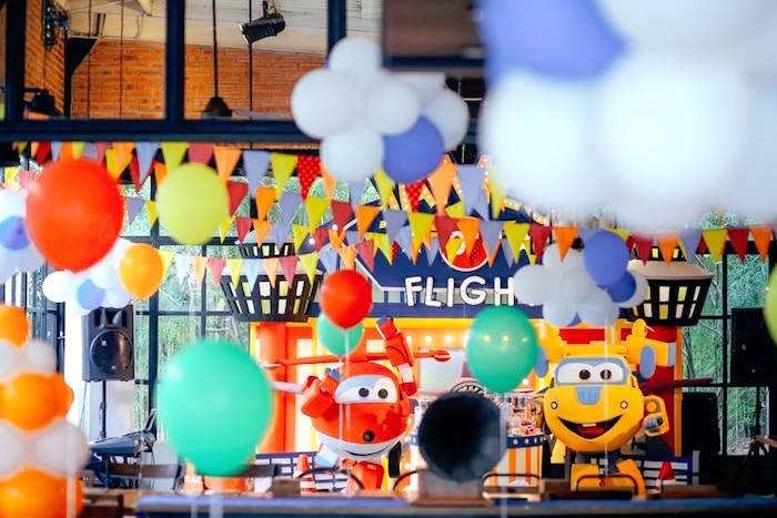 Airplane Themed Birthday Party via Kara's Party Ideas   KarasPartyIdeas.com (7)