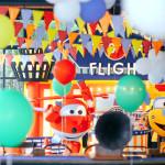 Airplane Themed Birthday Party via Kara's Party Ideas | KarasPartyIdeas.com (2)