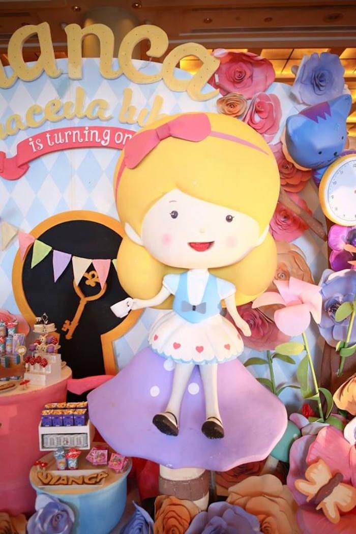 Alice Prop from an Alice in Wonderland Birthday Tea Party via Kara's Party Ideas | KarasPartyIdeas.com (17)