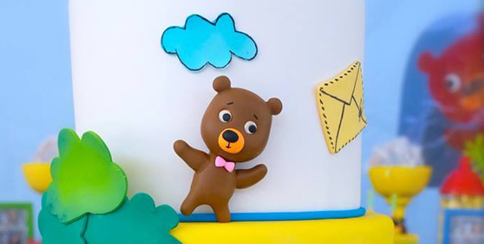 Bigo The Bear Themed Birthday Party via Kara's Party Ideas KarasPartyIdeas.com (2)