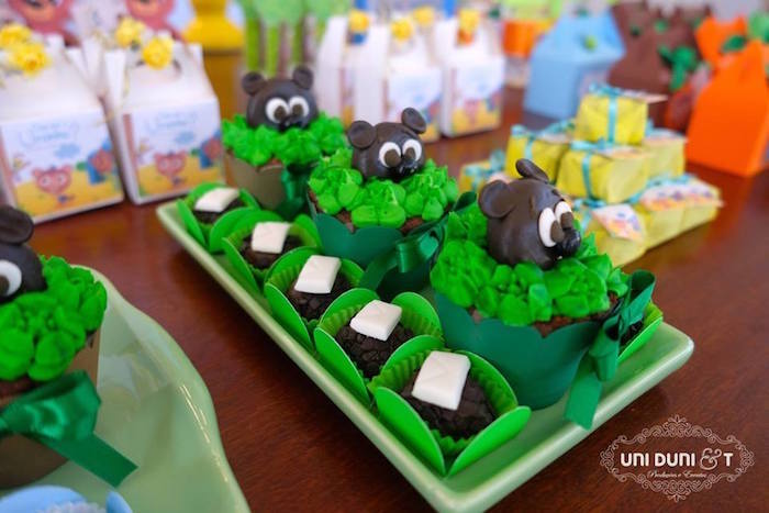 Sweets from a Bigo The Bear Themed Birthday Party via Kara's Party Ideas KarasPartyIdeas.com (18)