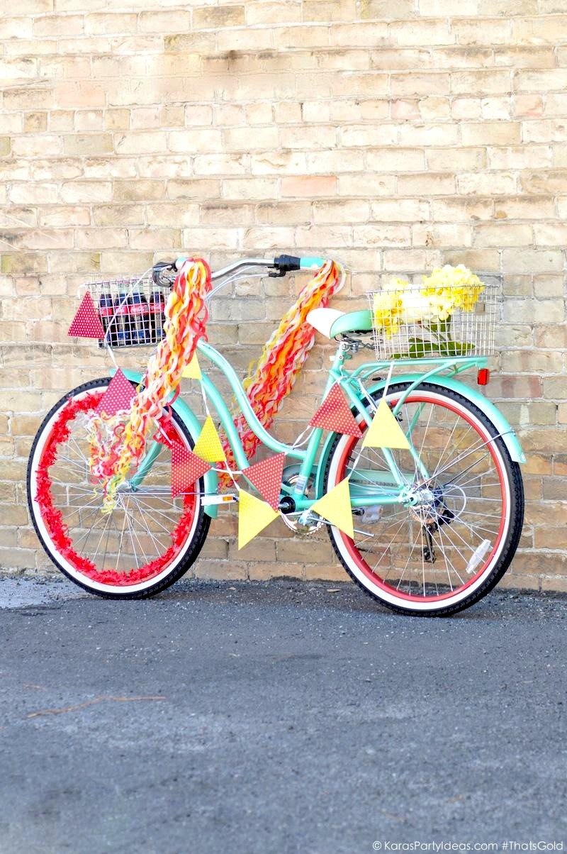 Kara's Party Ideas Summer Bike Parade + $385 Coca Cola # ...
