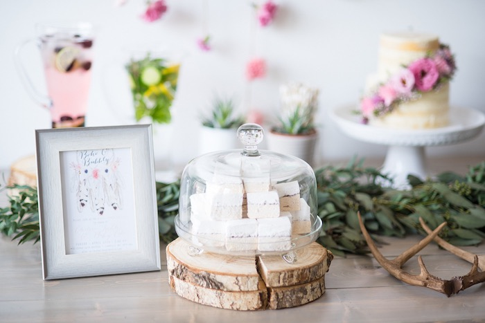 Details from a Boho & Bubbly Baby Shower via KARA'S PARTY IDEAS | KarasPartyIdeas.com (33)
